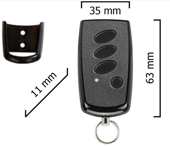 Dickert S8Q-868A15L00 Handsender, Linear-Code, 15-Kanal 868 MHz