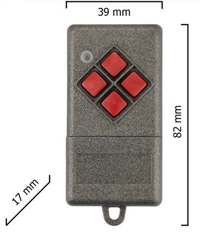 Dickert S10-868A4L00 Handsender LinearCode 4 Kanal 868 MHz
