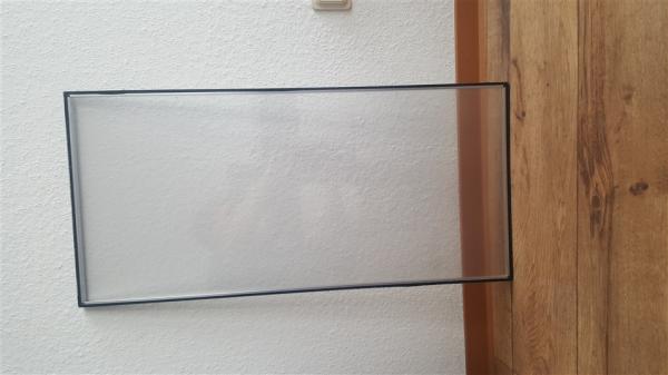 Plexiglas Scheiben sehr stabil - Teckentrup Sectionaltor Industrietor - B-Ware