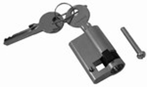 Profilhalbzylinder, 50,5 mm für Tore und Türen, mit Schlüssel