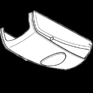 Antriebshaube mit Beleuchtungsblende für Comfort 211