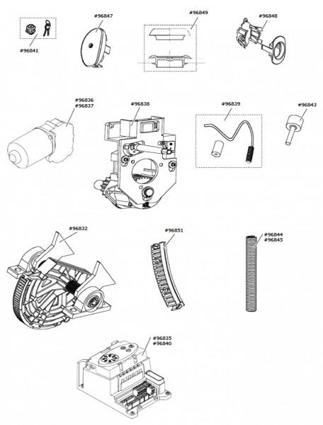 Marantec Ausgleichsfeder-Paket, P3, ZUBK 102825