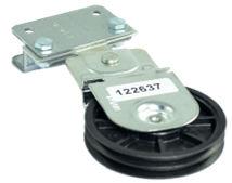 Teckentrup Seilrollenhalter für 4 - fach Federsystem