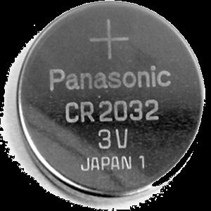 Batterie für Handsender, CR 2032, Lithium, 3V, Knopfzelle