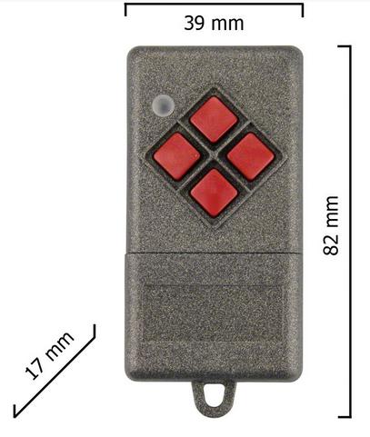 Dickert S10-433A1L00 Handsender LinearCode 1 Kanal 433 MHz AM