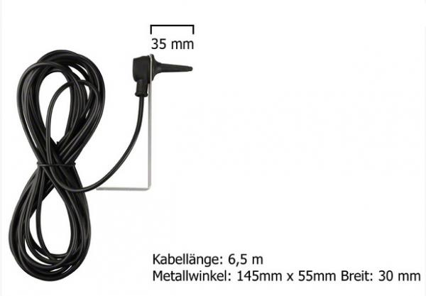 Dickert Stabantenne FZB08-00 Außenmontage 27 MHz