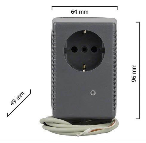 Dickert E20-868A1R10 Steckdosenempfänger 230V 1 Kanal 868 MHz AM