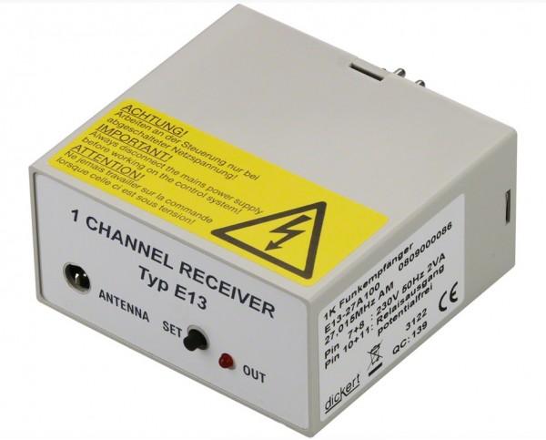 Dickert E13-868A100 Funkempfänger, 868 MHz, 1 Kanal