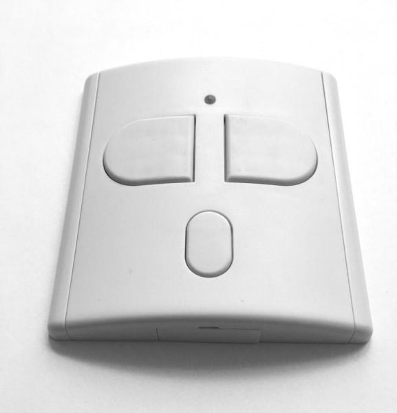 Teckentrup SOMtouch Funkwandtaster AP, weiß/weiß