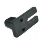 Teckentrup GS Seilsicherung Kunststoff schwarz