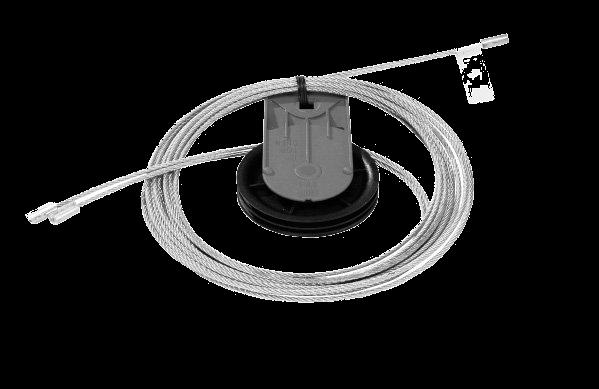 Novoferm Seil Umlenkrolle mit Seil