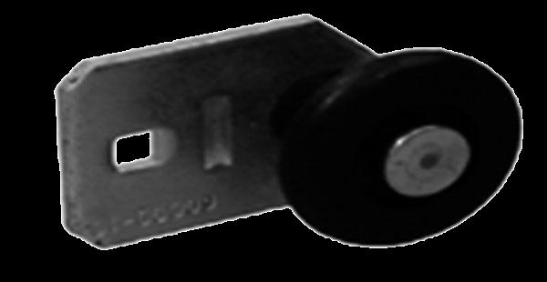 Novoferm Laufrolle für Zugfedertor unten