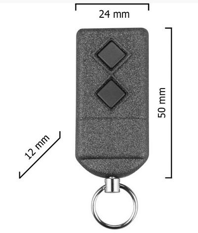 Dickert S5-868A2K00 Handsender, KeeLoq 2 Kanal 868 MHz