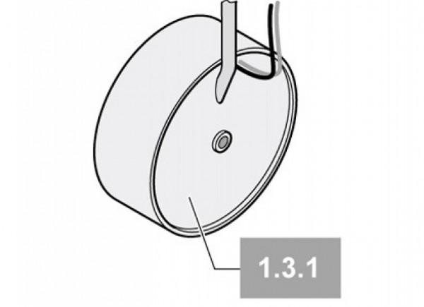 Sommer Trafo Ringkern 230 V/24 V/200 VA/Segment