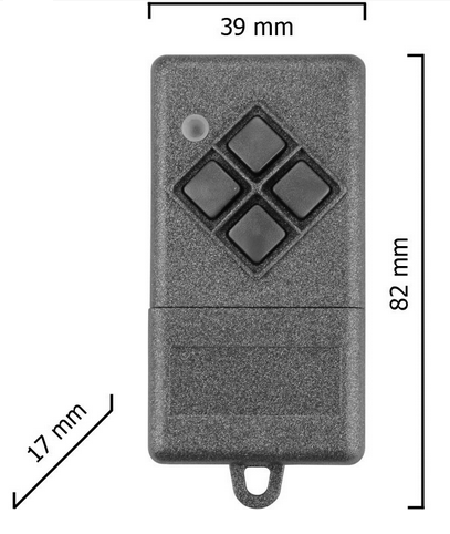 Dickert S10-868A4K00 Handsender KeeLoq 4 Kanal 868 MHz