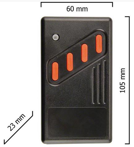Dickert AHS40-04 Handsender LinearCode 4 Kanal 40 MHz AM