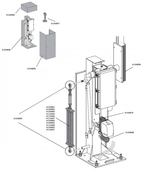 Marantec Referenzpunktsensor für Parc 300 und Comfort 585, 586