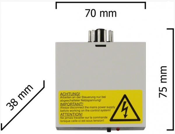 Dickert E13-27A100 Funkempfänger 1 Kanal 27 MHz AM 230 V AC