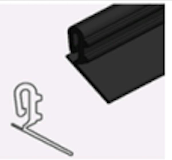 Teckentrup Zargendichtung GS lange Lippe L=2260mm